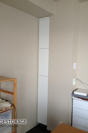 デッドスペースを利用した隙間にピッタリの収納家具