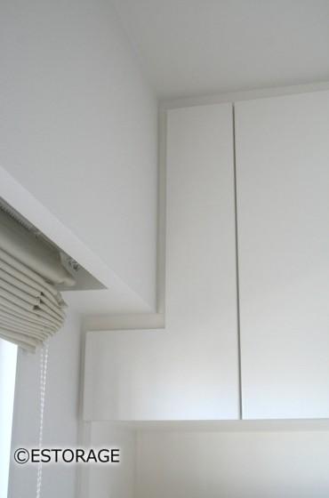 用途に合わせて扉を設計したダイニング壁面収納