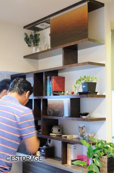 神棚を祀るための飾り棚