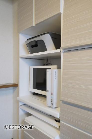 リビング壁面収納-専用スペース-2