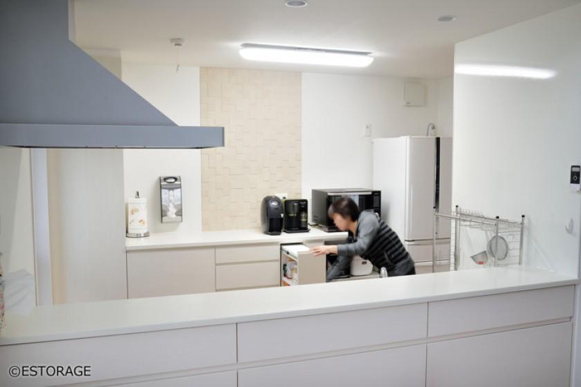 イメージを形にした多機能キッチン収納