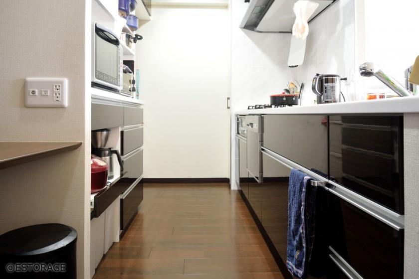 キッチン壁面収納オーダー家具-6
