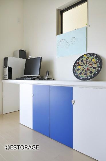 デザイン性重視の壁面収納5