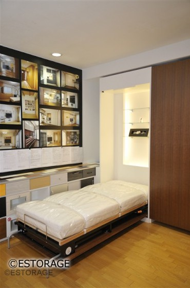 壁面収納ベッド