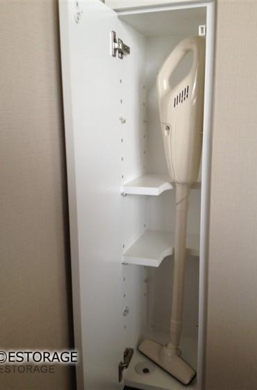 デッドスペースを利用した収納家具