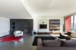 オーダーメイドの壁面収納家具でリビングを高級感溢れるスペースへ