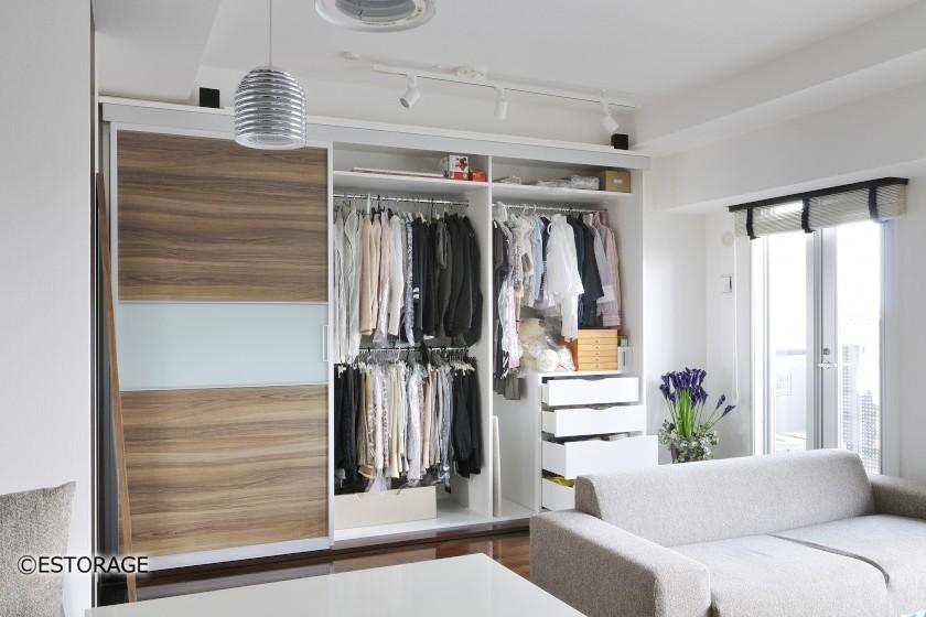 自宅の収納スペースを2倍広くするクローゼットとは
