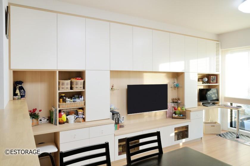 賃貸物件で壁を傷つけずに置ける壁面収納型の家具とは?