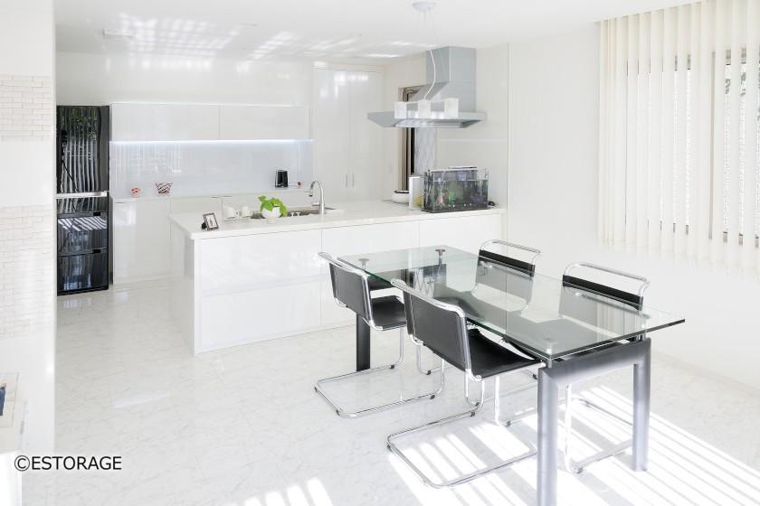 キッチンの収納スペースを活用