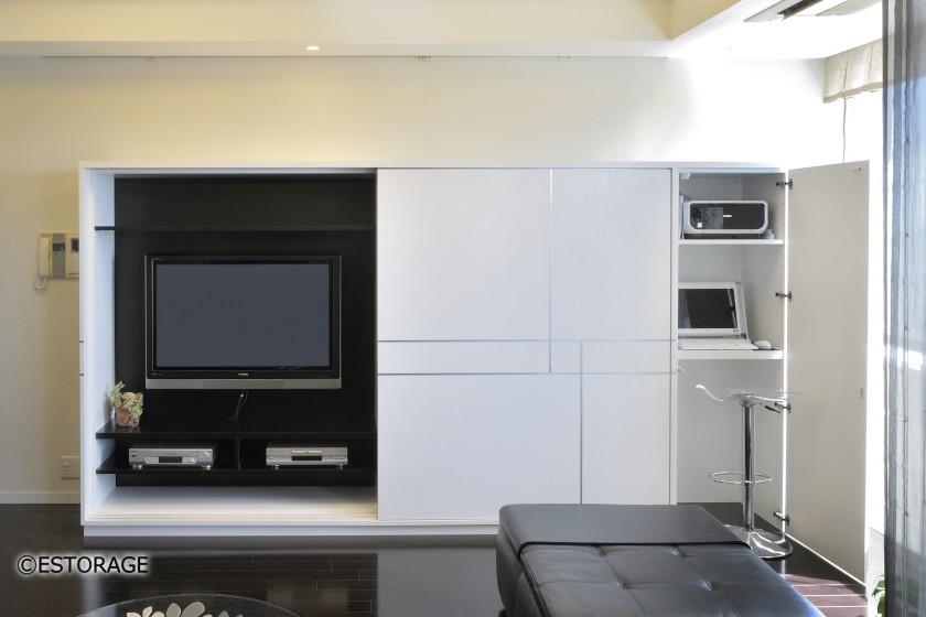 収納のスペースを確保したインテリアセンス溢れるテレビボードとは?