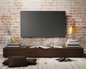 収納の多いテレビ台を活用したお洒落なインテリアコーディネート実例