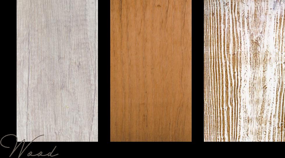 木の素材を取り入れる