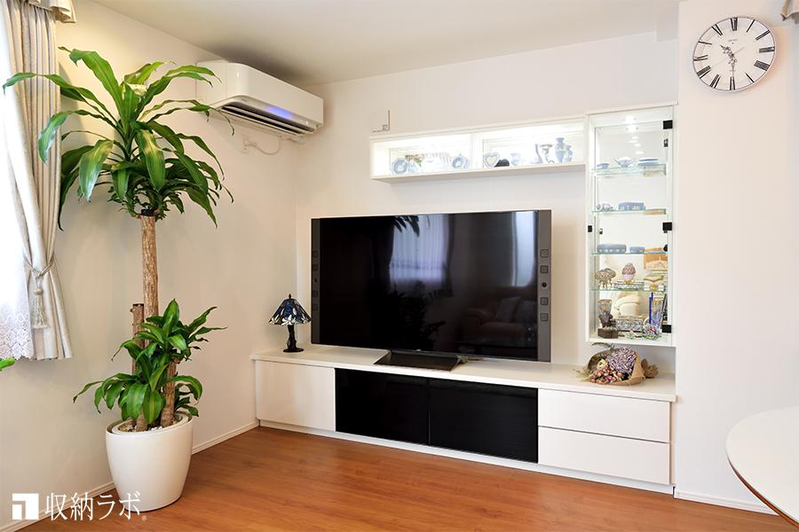 7.コレクションを美しく見せるシステム収納家具