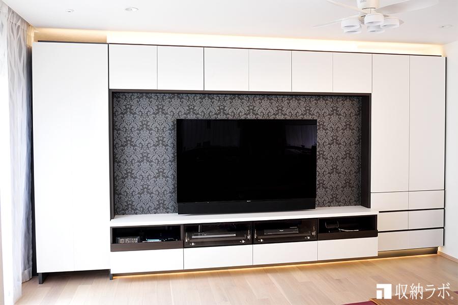オーダー家具のテレビボード