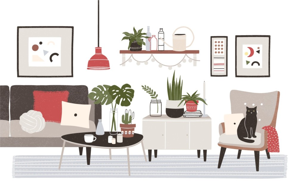 デザインも収納も叶えるのがオーダー家具
