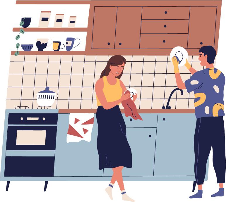 4.キッチンの収納は実用性を重視が◎