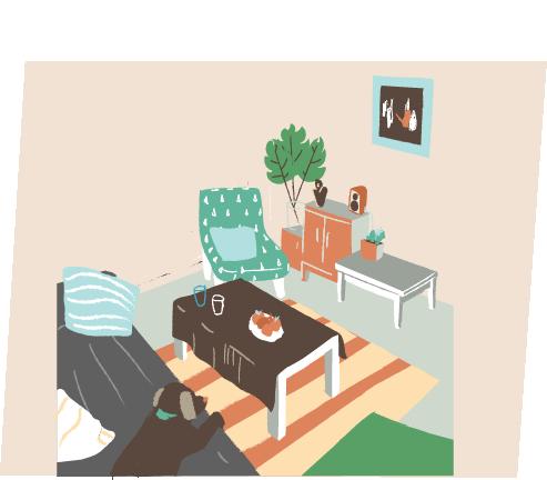 1.家具を増やしすぎていない?