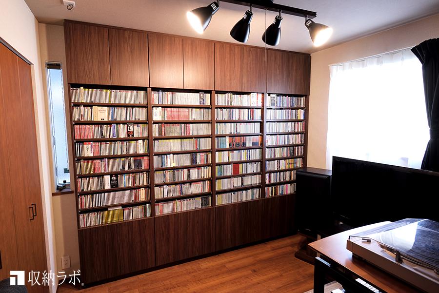 自分だけの部屋を作るオーダーメイド本棚