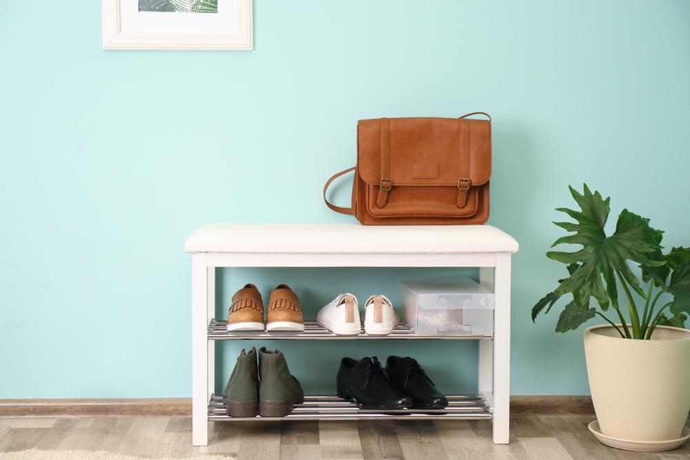 靴箱の中身は整理整頓