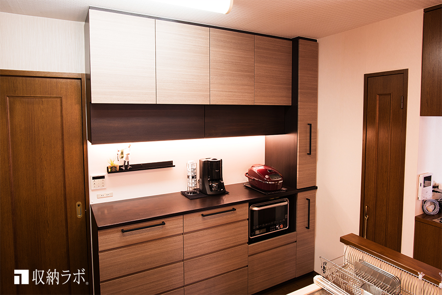 家具と壁のすき間のデッドスペースを活用