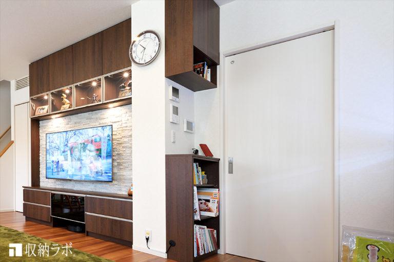 3.壁のスイッチ周辺のデッドスペースを活用