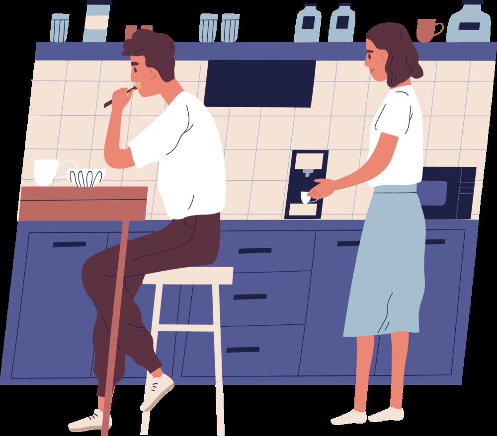 キッチンの収納家具