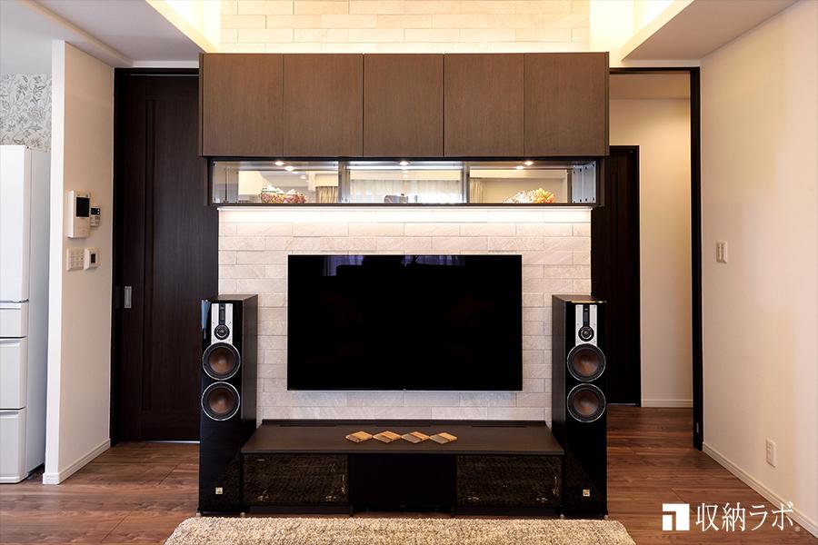 ホームシアターを満喫できるオーダー家具の事例