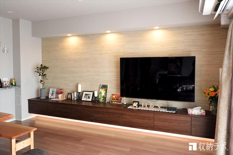 お部屋の広さを活かしたオーダー家具の事例