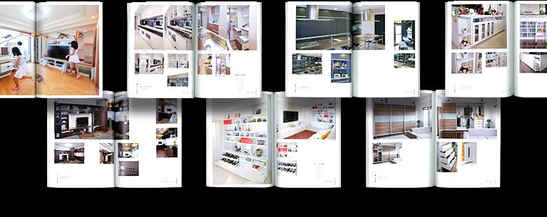 オーダー家具事例集のサンプル