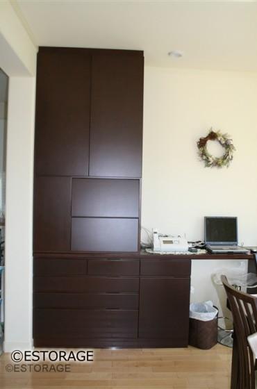 既存家具に増設したオーダー家具