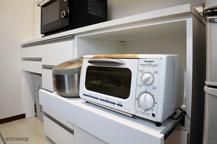 使い勝手にこだわったシンプルキッチン収納
