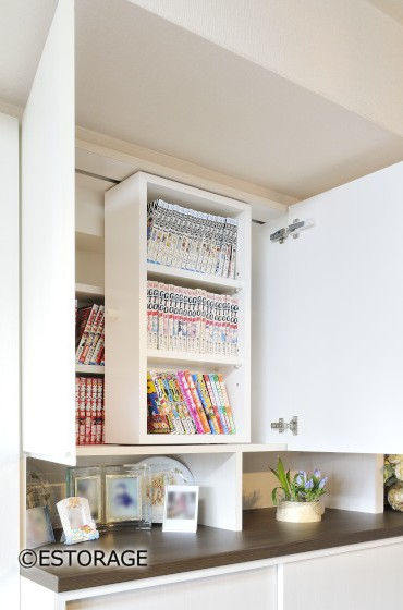 スライド式の書棚
