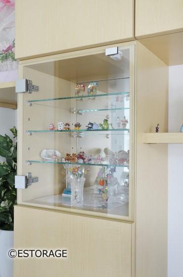 コレクションのための飾り棚