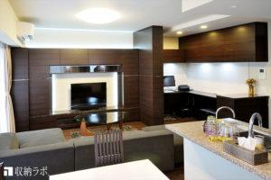 自宅のリビングにワークスペースを実現したオーダー家具