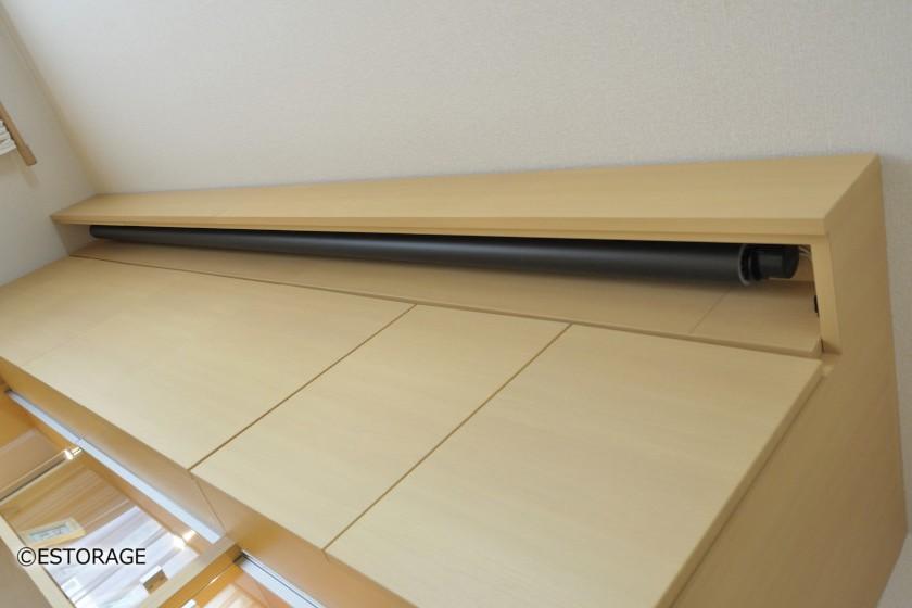 ホームシアター-リビング壁面収納-5