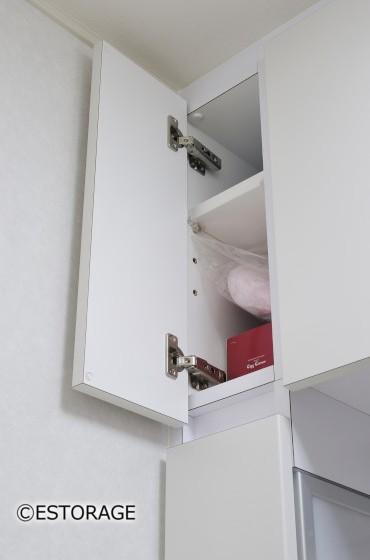 デットスペースも収納スペースとして有効活用。