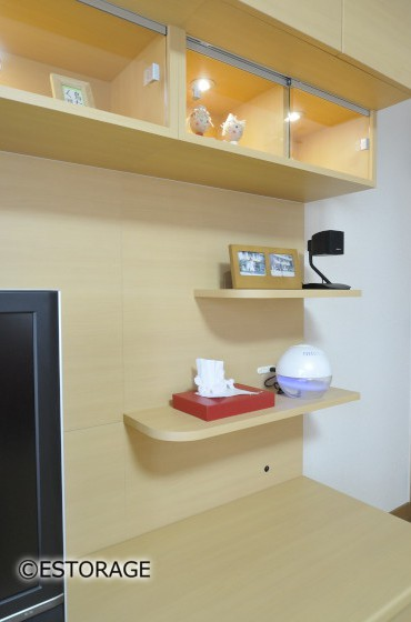 ホームシアター-リビング壁面収納-3