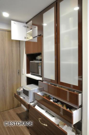 限られたスペースを最大限に活かしたキッチン収納