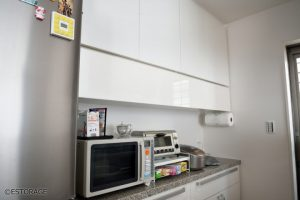 キッチンの収納を改善したキッチン収納とカウンター下収納