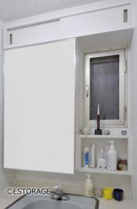 スペースをムダにしない洗面収納