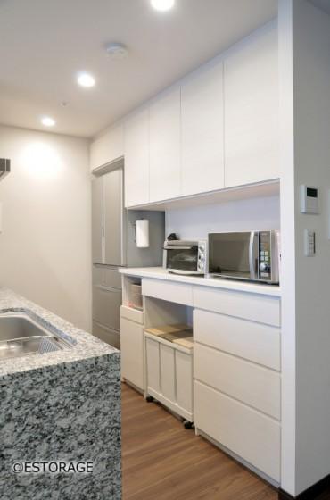 マンションのお部屋に馴染むキッチン収納