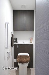 トイレ用の壁面収納