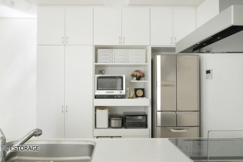 スッキリ仕舞えるキッチン収納