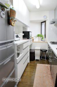 引出しを有効的に使ったキッチン収納