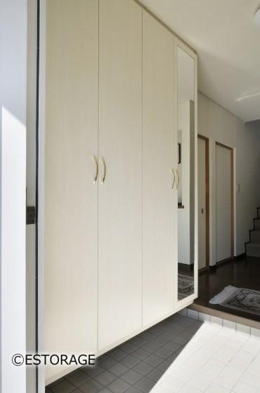 収納力抜群の玄関収納