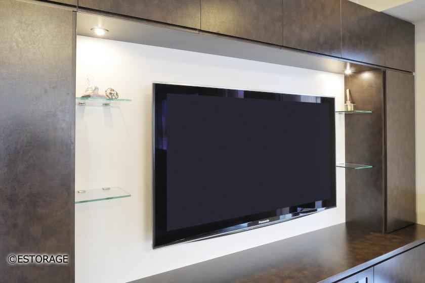 壁掛け式TVボード