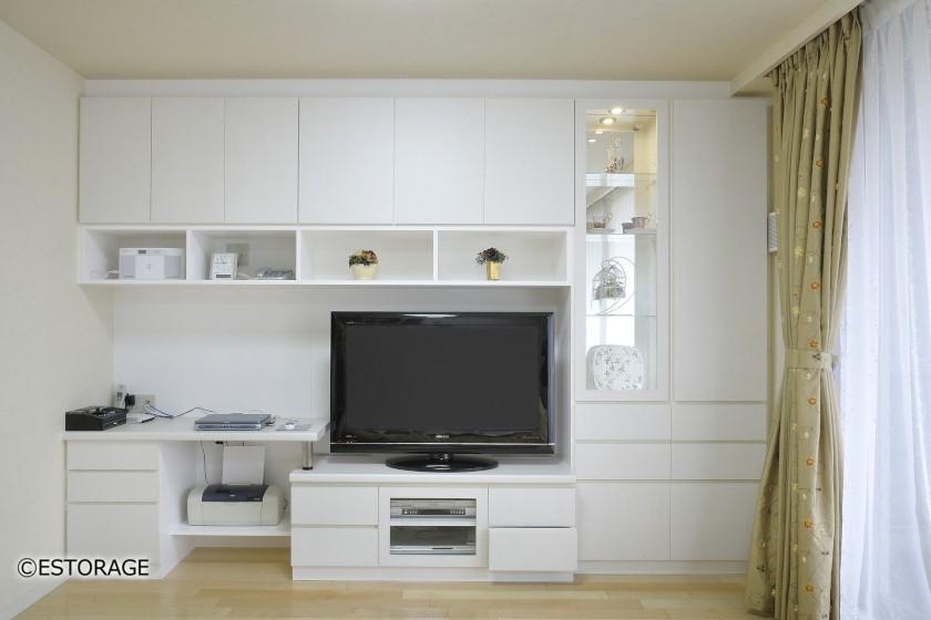 実用性とインテリアを両立した壁面収納