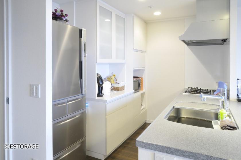 家電を収納できるキッチンボード