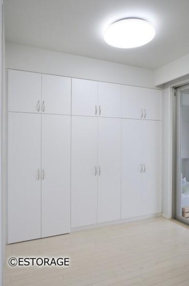 シンプルな収納でお部屋すっきり