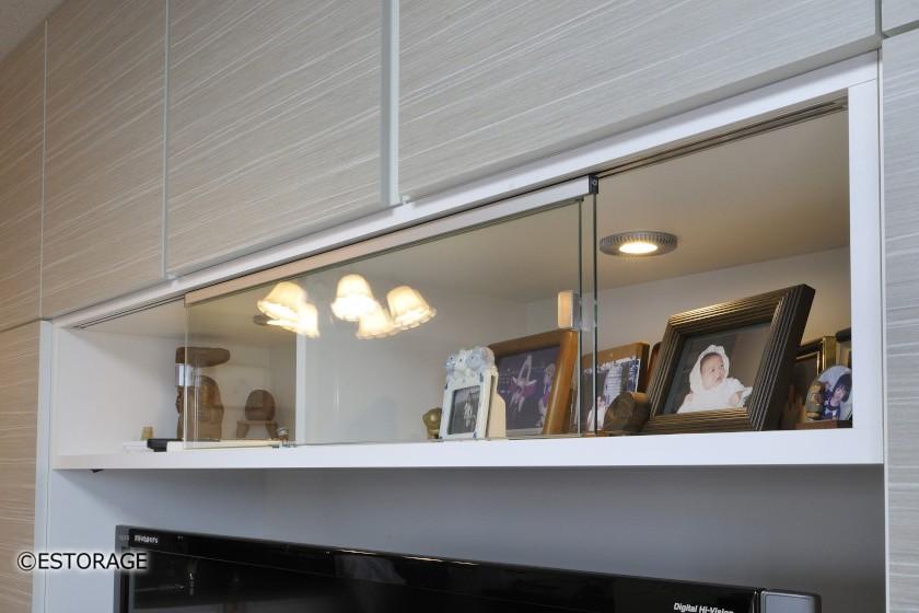 リビング壁面収納-専用スペース-8